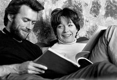 TWO MULES FOR SISTER SARA (1977) - Clint Eastwood & Shirley MacLaine study the script - Directed by Don Siegel - Universal Pictures - Publicity Still.