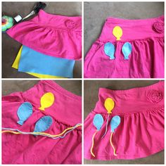 Easy Pinkie pie equestria girl cutie mark. Homemade costume, my little pony, cosplay, Halloween, dress up. Mlp