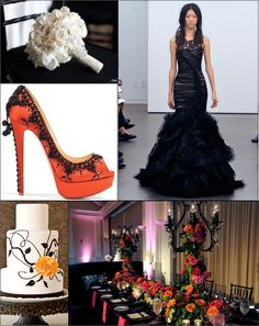Halloween Wedding Decorations | Dare to be Different: Halloween Wedding Ideas | Oh So Savvy!