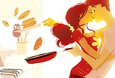 Pancakes, by Pascal Campion