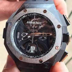 No caption needed for this novelty. Do you want it? Reserve now! ⌚️ www.thetimeshoppers.com #thetimeshoppers #audemars #audemarspiguet #michaelschumacher #schumacher #laptimer #wristporn #lovewatches #watchoftheday #watch #miamibeach #novelty #limitededition #womw #wruw #limited #luxury #style #thebillionairesclub #watches #audemarsholics #watchesofinstagram #carbon #mensfashion #beautiful #theluxurylife #rolexero #mondani