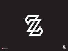 Logo Design: Zz By George Bokhua on Driible.com | #logo #design #inspiration