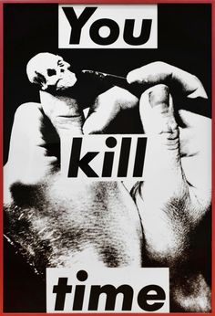 Business as usual, Early Barbara Kruger