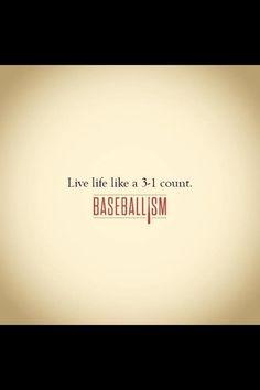 Baseballism: Live life like a count – Sport is lifre Dodgers, Baseball Videos, Baseball Quotes, Softball Mom, Baseball Mom, Softball Stuff, Baseball Stuff, Baseball Pants, Rangers Baseball