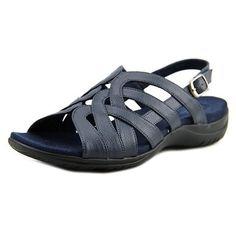 2c3940f16bd7 Shop for Easy Street Visage N S Open-Toe Leather Slingback Sandal. Free.  overstock.com