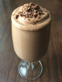 Chocolate Espresso Mousse ~ Cool, creamy and full of rich chocolate flavor, you won't miss the added fat and calories in this lightened up chocolate mousse recipe. Perfect for Valentine's Day but healthy enough to eat any day of the year.