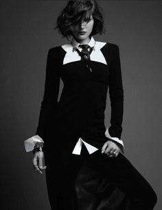 """Girls Meet Boys : Catherine McNeil : Numéro #137 October 2012 : Jean-Baptiste Mondino"