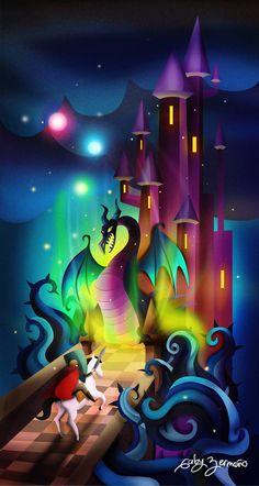 """""""Maleficent"""" by Gaby Zermeño"""