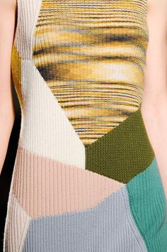 Missoni A/W '14.  Love the asymmetrical use of the iconic Missoni treatment.