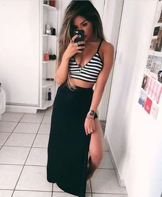 😼 Link na bio Summer Outfits, Girl Outfits, Fashion Outfits, Girl Fashion, Womens Fashion, Look Chic, Swagg, Casual Looks, Ideias Fashion