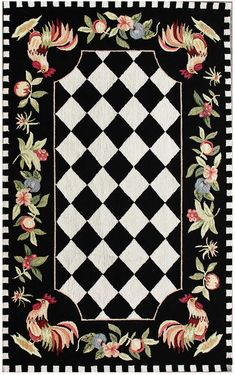 17 best rooster rug images hens chickens roosters roosters rh pinterest com