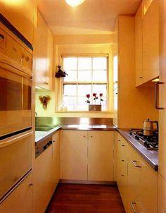 Cozinha pequena? 40 idéias de como usar as paredes para otimizar o espaço (Parte 2) » Amando Cozinhar