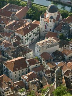 Kotor, Montenegro #Aerial #Bird's-eye