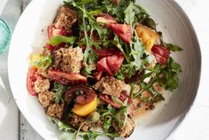 Beefsteak Tomato Bread Salad