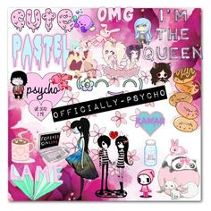 """Another Icon."" by officially-psycho ❤ liked on Polyvore featuring Tokidoki and Puella"