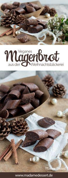 Plätzchen Rezept für ein veganes Weihnachten ❤️ In der Weihnachtsbäckerei gibt's so manche vegane Schleckerei ❤️ Zum Beispiel mein Rezept für veganes Magenbrot.