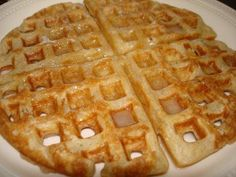 Buttermilk Waffles ... This is my favorite waffle recipe!  Definitely worth the extra time to make waffles from scratch. So good!
