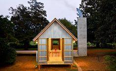 A Zachary House, em Ramseur, na Carolina do Norte; casa foi projetada pelo arquiteto Stephen Atkinson.