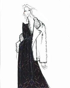 Joie plus 32 other designer sketches from NYFW fall/winter 2015.