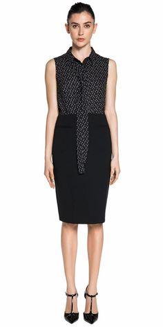 Wear to Work | Black Pencil Skirt