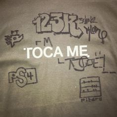 First TOCA ME shirt back from 2004 with Joshua Davis, tomato, James Paterson, Amit Pitaru and 123Klan. #tocame #backintime