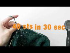 ▶ Speed Knitting - Knitlynpics - YouTube