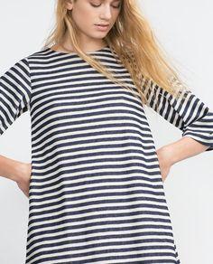 Image 3 of STRIPED DRESS from Zara