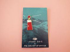 Lighthouse Enamel Pin - £6.23  https://www.etsy.com/uk/listing/247786516/lighthouse-enamel-itgwo-2015-pin?ref=shop_home_active_15