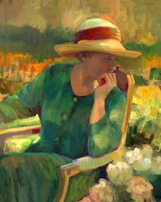 Sally Rosenbaum - Garden Contemplation