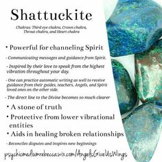 Shattuckite crystal meaning -  Pinned by The Mystic's Emporium on Etsy