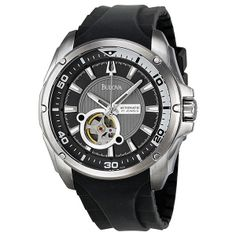 Bulova BVA Series 120 Mechanical Mens Watch 96A136
