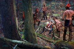 Lost and Found- British soldier captured by the Huron Indians, Seven Years War
