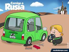 Camino Tricolor rumbo a Rusia - Qucho - mediotiempo.com