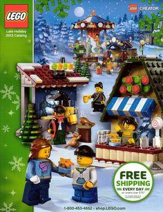 Lego Shop At Home Collectible Catalog Holiday 2013 Lego Creator, The Creator, Lego Christmas, Lego Mindstorms, Lego Super Heroes, Lego Ninjago, Lego City, Lego Star Wars, The Hobbit