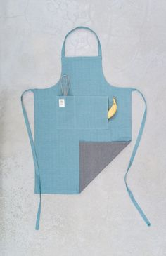 fouta Upcycling Kochschürze · cooking apron via acasa.berlin. Click on the image to see more!