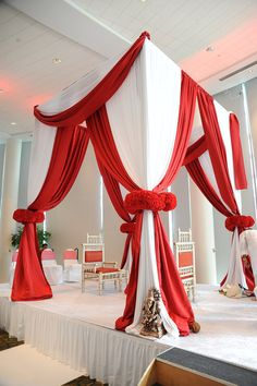 Pipe and Drape Atlanta Rental - Fabric Structures - POHP Events