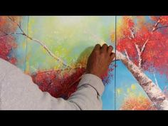 #red#fall#painting# details#david#vasquez#toronto#artist#canada - YouTube