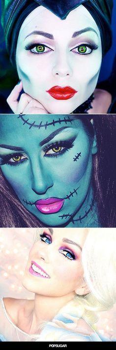 Pin for Later: 15 Beginner Hacks From Incredible Halloween Makeup Tutorials