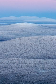 clivus: Kaamos landscape (by Teemu Lahtinen) Landscape Photography, Nature Photography, Native Country, Enjoy The Silence, Aerial View, Beautiful Landscapes, Wonders Of The World, Finland, Mother Nature