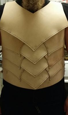 Dark elf leather armor WIP by Idimmu666
