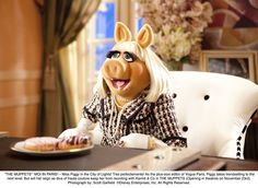 miss piggy in chanel