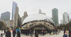 Cloud gate Chicago the USA . . . #travel #cool #instagood #instacool #architecture #chicago #usa #traveling #amazing #travelling #digitalnomad #traveling #travelpic #holidays #vacations