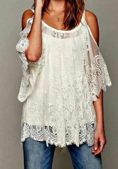 This top is beautiful!  (Totally out of my comfort zone but i would like to try it!)