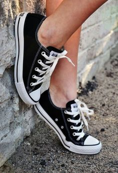 Black Converse are awesome but I like the high tops better