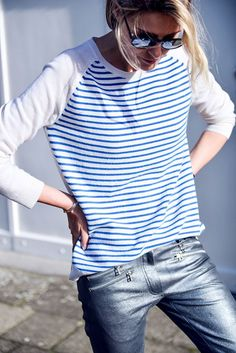 & again stripes!! can't have enough!  ICI