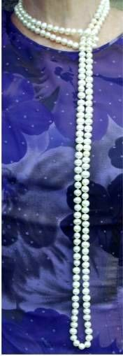 21 Ways to Wear a Rope Pearl Necklace