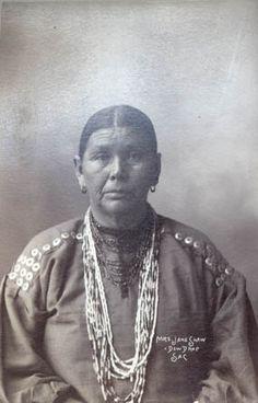 Rinehart Photograph Payoki or Mrs. Shaw (Kickapoo)