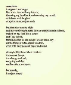 I've never read anything more true.