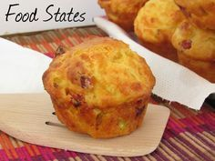 Αλμυρα μαφιν (με αλλαντικα) - Food States Muffins, Cupcakes, Breakfast, Blog, Recipes, Shrimp, Morning Coffee, Muffin, Cupcake Cakes