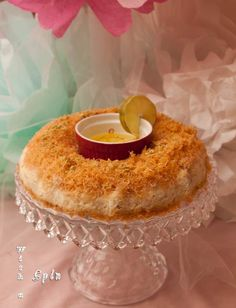 Kunafeh. A perfect dessert with a blend of crunch and soft, sweet and tart.